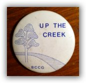 up the creeek badge small