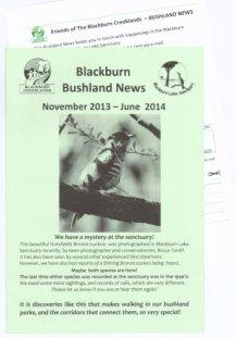 bushland news