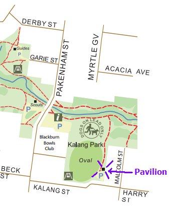 kalang pavilion map