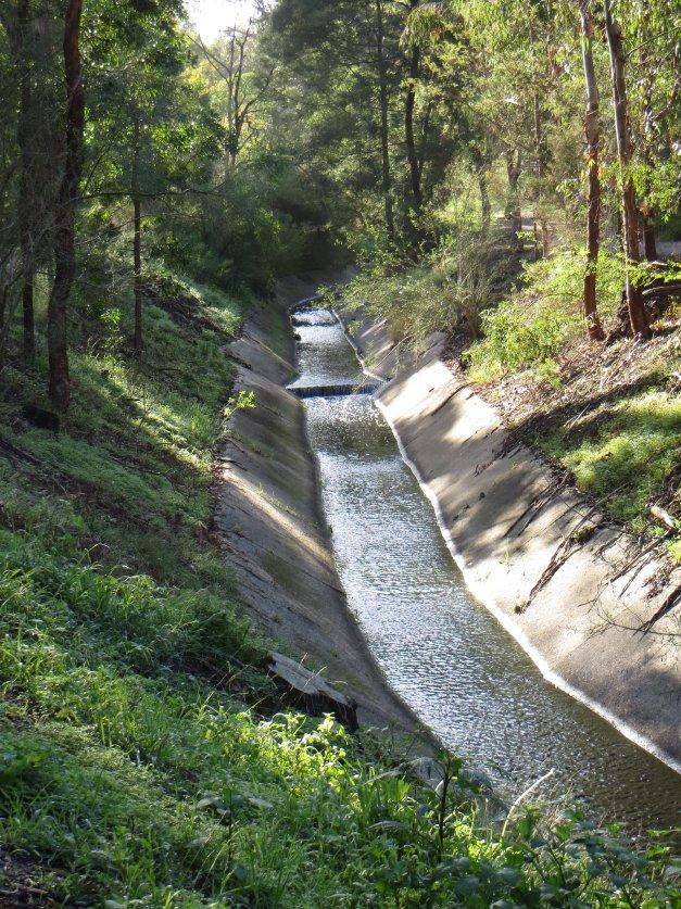 the barrelled creek